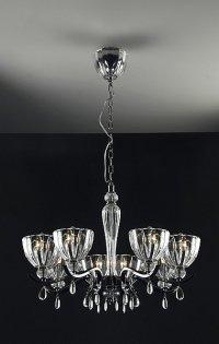 Lampa wisząca, żyrandol Lybra